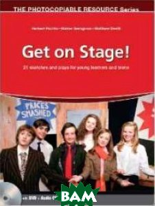 Купить Get on Stage! with Audio CD and DVD. 21 Sketches and Plays for Young Learners and Teens (+ Audio CD), Heinle/Cengage Learn, 978-3-85272-248-1