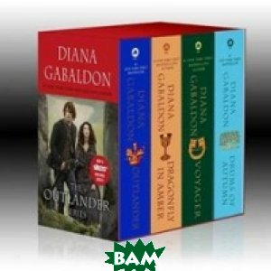 Купить Outlander 4-Copy Boxed Set Film Tie-in, Random House, Inc., Gabaldon, 978-1-101-88748-6