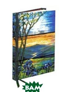 Купить Tiffany Leaded Landscape with Magnolia Tree. Notebook, Flame Tree, 978-0-85775-380-9
