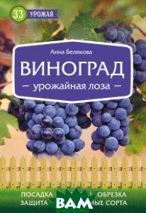 Купить Виноград. Урожайная лоза, ЭКСМО, Белякова Анна Владимировна, 978-5-699-86198-9