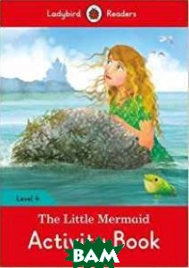 Купить The Little Mermaid Activity Book, Ladybird, 978-0-241-29869-5