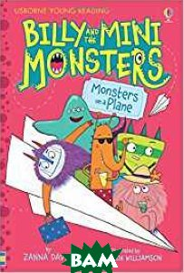 Купить Billy and the Mini Monsters - Monsters On A Plane, Usborne, Davidson Zanna, 978-1-4095-9344-7
