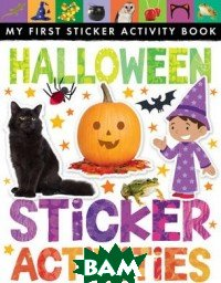Купить Halloween Sticker Activities, Little Tiger Press, 978-1-84895-921-7