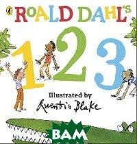 Купить Roald Dahl s 123, Puffin, Dahl Roald, 978-0-241-33036-4