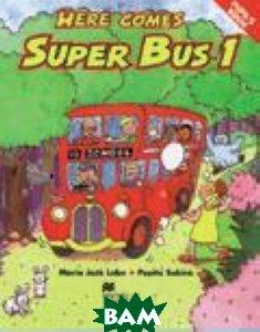 Купить Here Comes Super Bus Level 1 Activity Book, Macmillan Publishers, 978-1-4050-7691-3