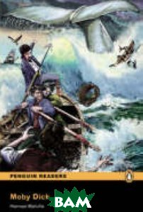 Купить Penguin Readers 2: Moby Dick, Pearson, Herman Melville, 978-1-4058-8166-1