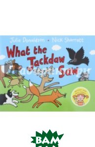 Купить What the Jackdaw Saw, Macmillan Publishers, Donaldson Julia, 978-1-4472-8084-2