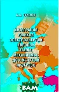 Купить Интеграция рынков электроэнергии Европы: этапы, механизмы, достигнутый прогресс, Икар, Тукенов Ануар Акимжанович, 978-5-984-05110-1