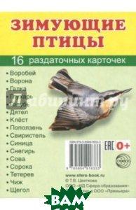 Раздаточные карточки Зимующие птицы (16 карточек)