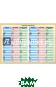 Купить Неправильные глаголы, ПОПУРРИ, 978-985-15-3258-8