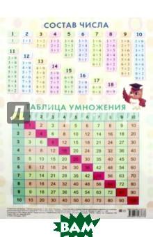 Купить Таблица умножения (1-20), ПОПУРРИ, 978-985-15-3574-9