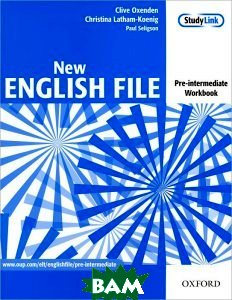 Купить English File Pre-Intermediate. Workbook without Key, OXFORD UNIVERSITY PRESS, Clive Oxenden, Christina Latham-Koenig, Paul Seligson, 9780194384360