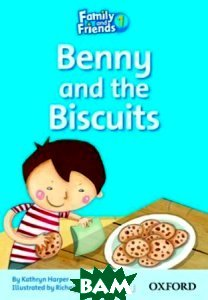 Купить Family and Friends 1: Benny and the Biscuits, OXFORD UNIVERSITY PRESS, Kathryn Harper, 9780194802543
