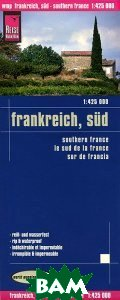 Купить France, sud. Карта, Reise Know-How, 978-3-8317-7199-8