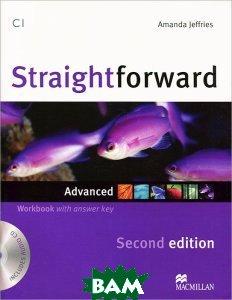 Купить Straightforward: Advanced Workbook with Answer Key (+ CD), Macmillan Publishers, Amanda Jeffries, 9780230423466