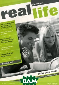 Купить Real Life: Elementary: Workbook (+ CD-ROM), Pearson Education Limited, Chandler Dominika, 978-1-4082-3513-3
