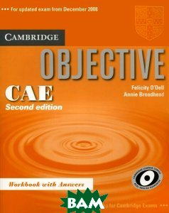 Купить Objective CAE 2Ed WB +ans, Неизвестный, 9780521700603