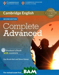 Complete Advanced: Student`s Book with Answers (+ CD-ROM)