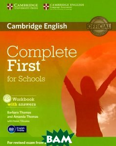 Complete First for Schools Workbook with Answers with Audio CD (+ Audio CD)