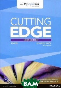 Cutting Edge: Starter: Student`s Book with MyEnglishLab (+ DVD-ROM)