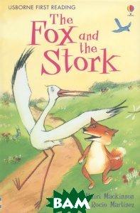 Купить Fox and the Stork: Level 1, Usborne Publishing Ltd., 9780746085295